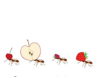 Ants (4x4 Card)