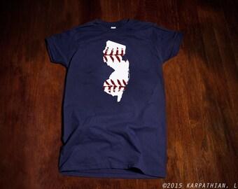 New Jersey baseball Ladies junior fit t-shirt