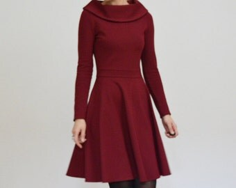 Lucky in Love Ponte jersey dress