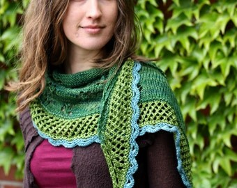 Squirrel knitting pattern pdf for beginners and advanced shawl in bloom knitting pattern pdf instant download knitting tutorial shawl negle Image collections
