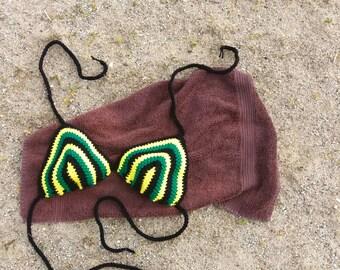 Bathing Suit Top - Bathing Suit Women - Swimsuit Bikini - Women's Swimsuit Top - Crochet Bikini Top - Crochet Swimwear - Halter Top Swimsuit