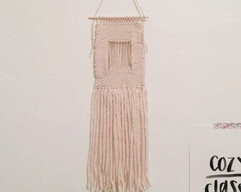 ivy / hand woven wall hanging