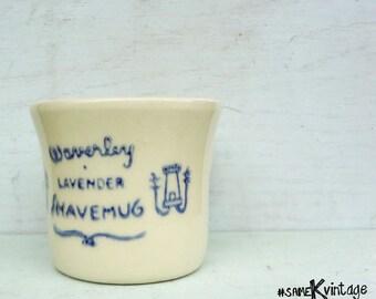 Waverley Lavender Shave Mug; Barber Shop; Beard & Mustache; Groom Kit; Free Shipping USA