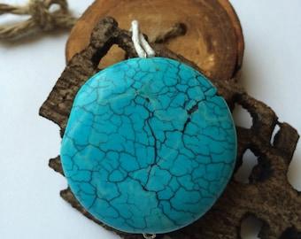 Pendant with semi precious stones