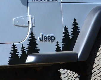 Jeep Wrangler TJ Front Fender Flare Trees (sold individually)