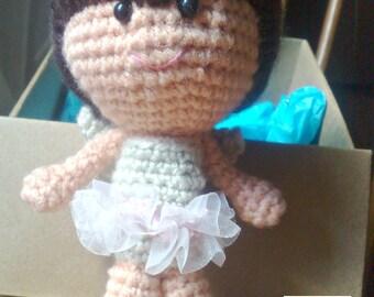 Amigurumi doll - Fairy - Crochet doll - Crocheted doll - Amigurumi Fairy doll - Crochet Fairy doll - Amigurumi Crochet doll