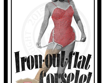 1950's Corselet  Sewing Pattern - PDF Pattern - Instant Download