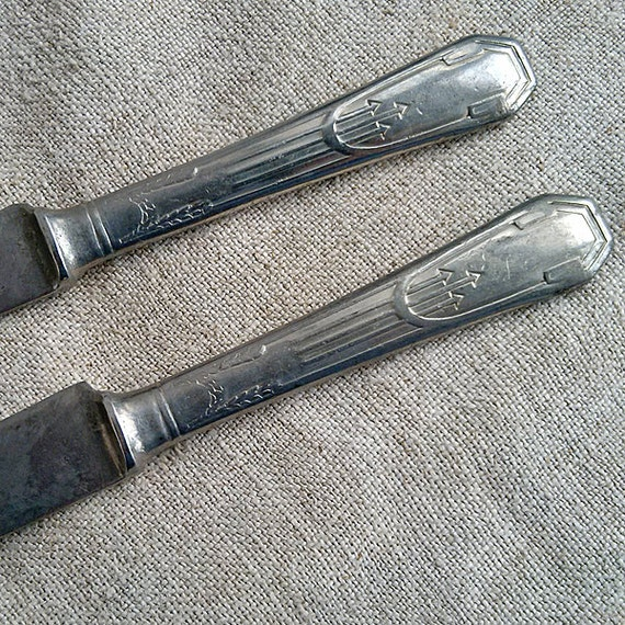 Antique Table Knife Solingen Cutlery Kitchen Retro By MyWealth