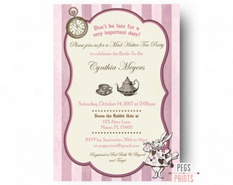 paris bridal shower invitation // parisian bridal shower //, Bridal shower invitations