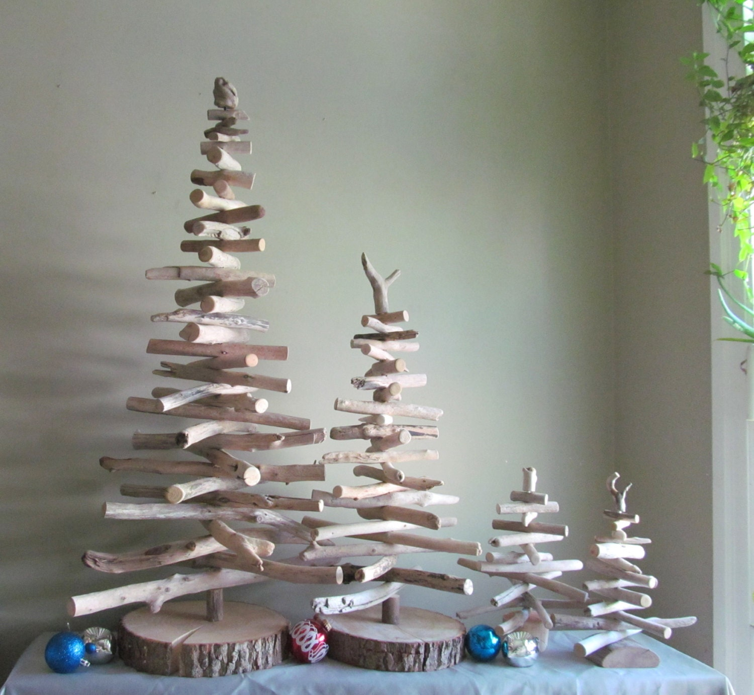 Medium or Large Driftwood Christmas Tree Driftwood Decor