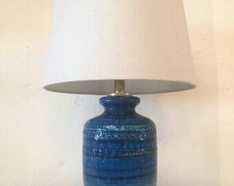 Mid-Century Bitossi Lamp