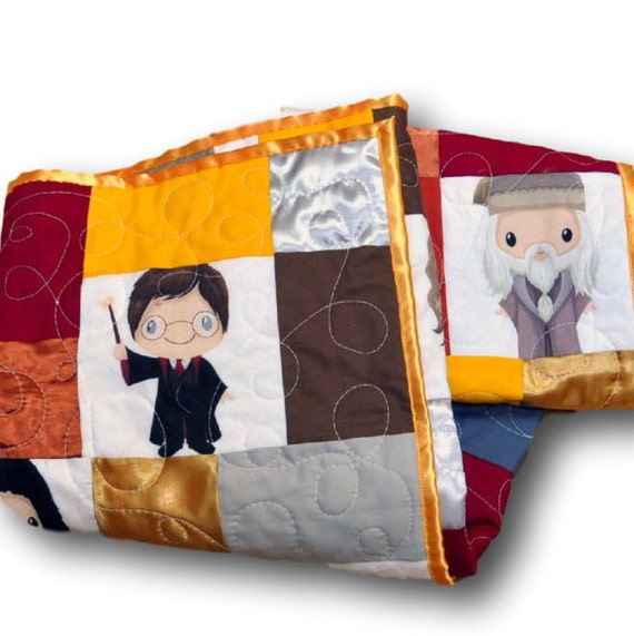 Harry potter baby harry potter nursery by outofcharacterquilts - Harry potter crib set ...