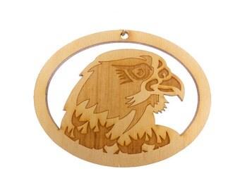 Falcon Ornament - Falcon Ornaments - Falcon Gift - Unique Falcon Gifts - Falcon Christmas Decor - Personalized Free