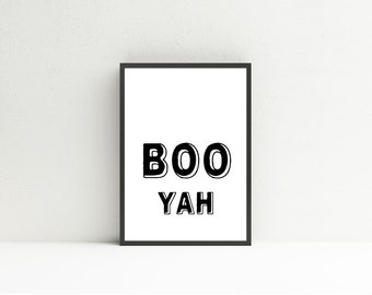 BOO YAH // Instant Download