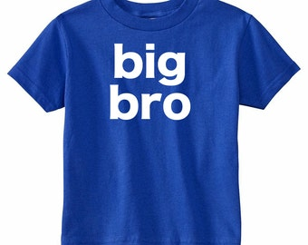 Big Brother Shirt | Pregnancy Announcement Shirt | Sibling Shirts | Little Brother Shirt | Personalized Big Brother Shirt | Big Bro Shirt