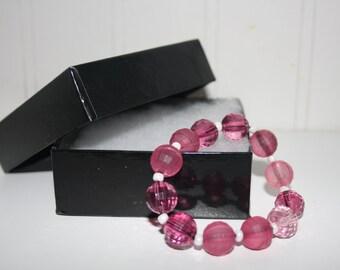 Pink Patter Bracelet