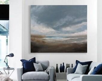 "36""x44""  original acrylic painting large painting on canvas"