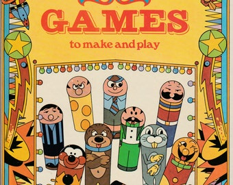 "1977 children's book ""Fairground games to make and play"""