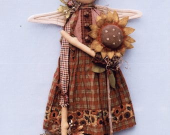Primitive PATTERN Harvest Annie Angel