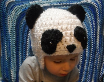 Toddler Panda Hat