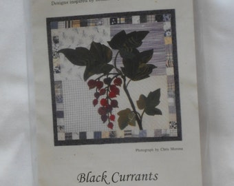 PIECE O CAKE Designs Kit to make Black Currants 16 in block.  All fabrics included.  Just add time and thread.