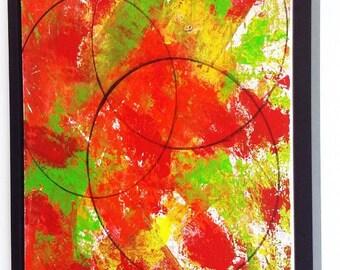 Original Abstract Painting, Canvas Art, Original Acrylic Painting, 16 x 20, Office Decor, Wall Decor, Home Decor