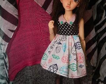 Minifee/Slim Msd Gemstone Tea Dress
