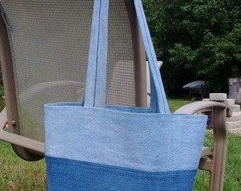 Jean Tote- Upcycled Jeans