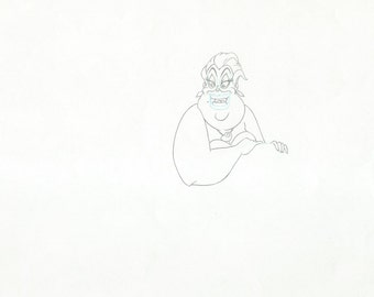 THE LITTLE MERMAID original production drawing