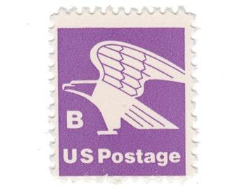 10 Unused Vintage US Postage Stamps - 1981 18c Eagle - Vintage Postage Shop - No. 1818