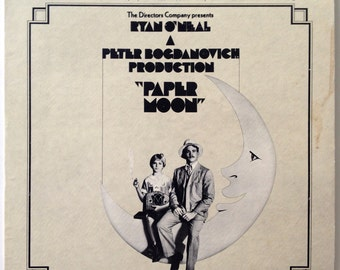 Paper Moon - Original Recordings Featured In Soundtrack LP Vinyl Record Album, Paramount Records - PAS 1012,  Jazz, Big Band, 1973