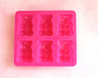 Gummy Bears Silicone Mold for Resin, Food, Clay & More