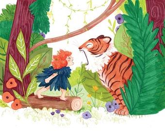Jungle Roar! Print