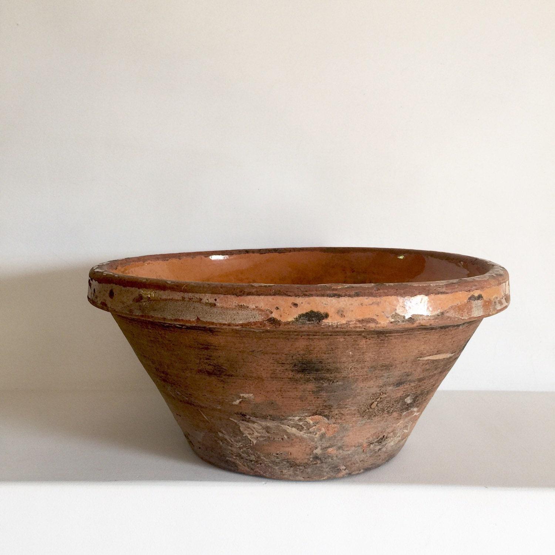 Vintage Kitchen Bowls: Antique Confit Bowl
