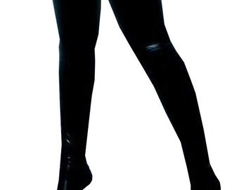 Plus Size (18 20 22) Glued Stockings | The 'Essential' Collection | Latex Rubber Gummi | Range of colours