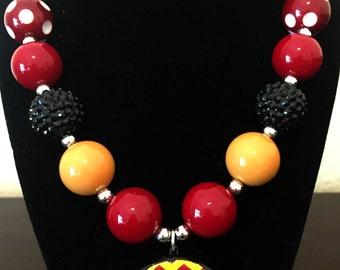 """Arizona """"ASU"""" Necklace"""