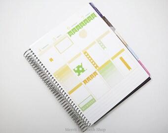 Planner Sampler Kit : August Vertical Planner Stickers 038043