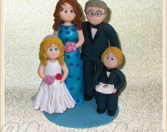 Wedding Cake Topper Personalised Family Wedding Cake Topper Personalised Wedding Cake Toppers