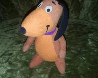 Vintage DOGGIE DADDY - Hanna Barbera Yogi Bear's Stuffed Animal PLUSH Playtime Toy, 1979