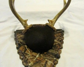 Taxidermy Plaque for Antler Mounting - Engraved Camo Arrowhead