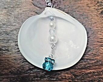 Original, Homemade, Natural Charleston Seashell Necklace