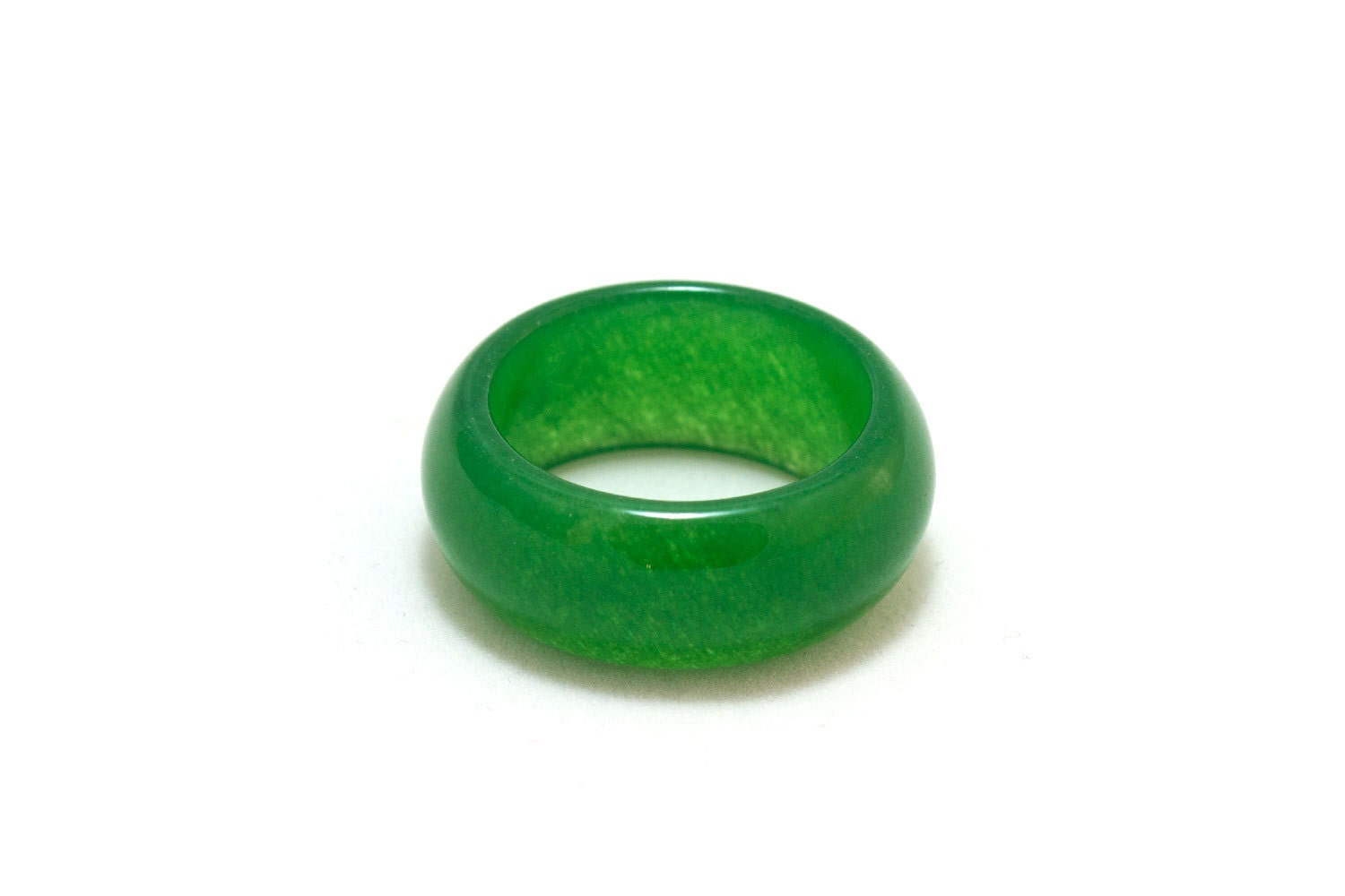 Imperial Jade Ring Band