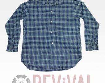 Vintage Pilgrim Plaid Shirt ~ Size L
