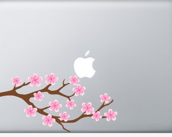 Cherry Blossom Laptop or Car Decal