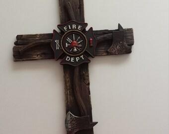 Fire Dept cross