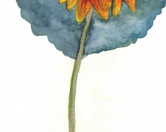Wildflower Daisy Painting - Digital Download