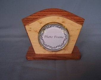 Art Deco Photo Frame-Desk Photo Frame-Wooden Frame-Birthday Gift