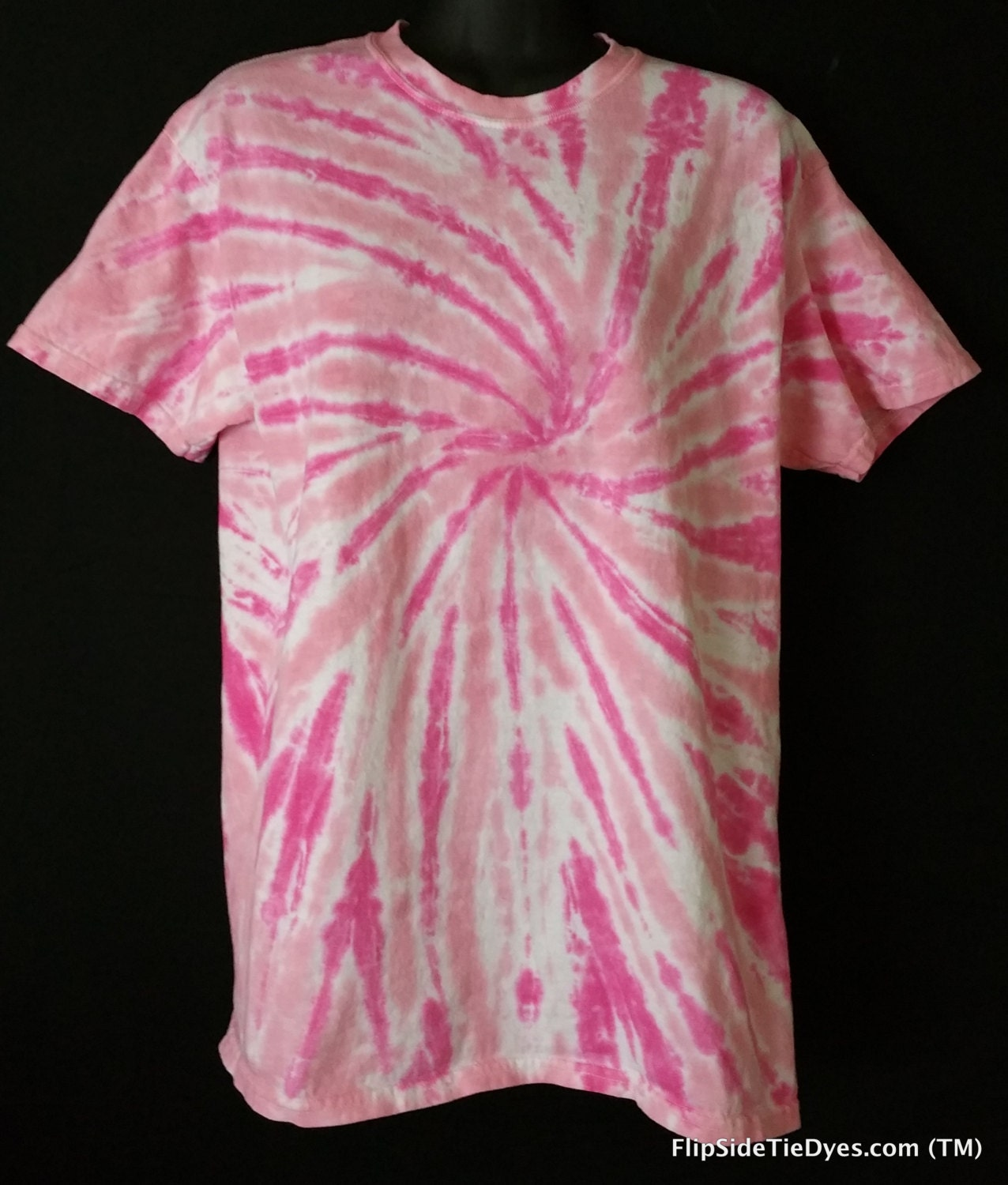 Tie Dye Shirt Breast Cancer Awareness Hand Dyed
