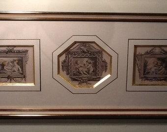 3 engravings