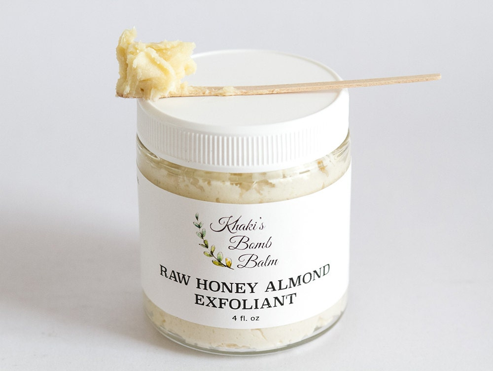Honey almond facial